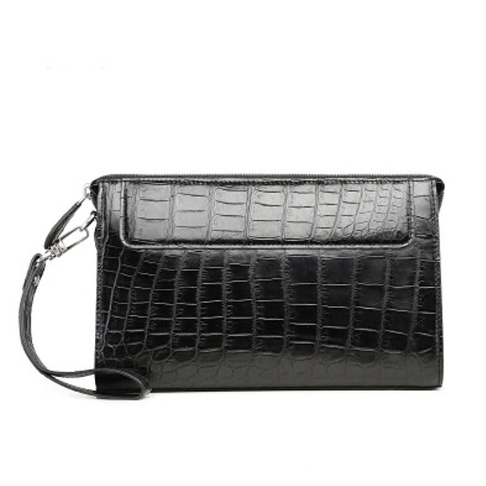 xingmengda new  crocodile leather men bag  handbags  male bag large capacity  Hand caught  business envelope bag  men clutch bag