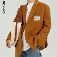 autumn and winter new products korean style trend loose and handsome solid color casual jacket men m5 bc b139