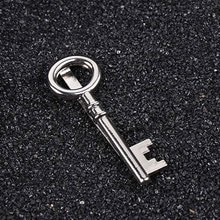 Fashion Suits Men's Key Shape Tie Clips for Wedding Party Gift Business Neck tie Clips Alloy Pin Cla