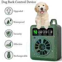 anti barking device bark control device with 4 adjustable ultrasonic volume levels automatic ultrasonic dog bark