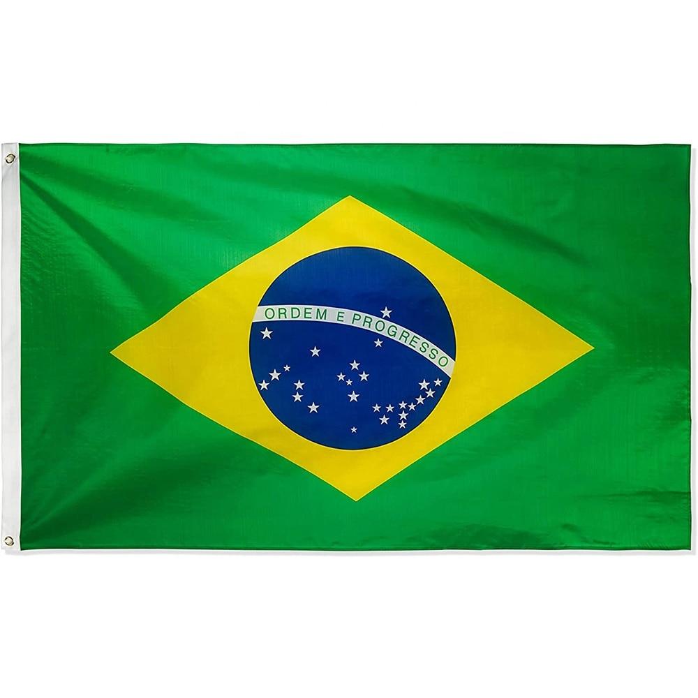 3x5, флаги Бразилии, флаги Бразилии для украшения, бесплатная доставка