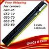 Batterie 8 cellules 4400mAh pour Lenovo Z40 Z50 G40-45 G50-30 G50-70 G50-75 G50-80 G400S G500S