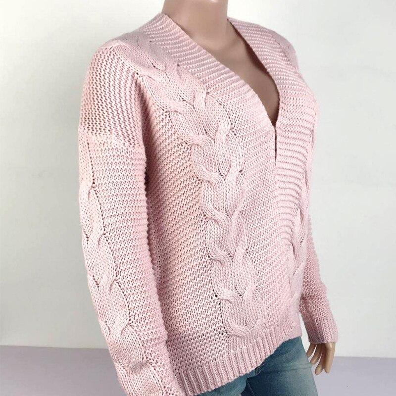 Women Long Sleeve Open Front Caridgan Braided Chunky Knit Short Sweater Outwear enlarge