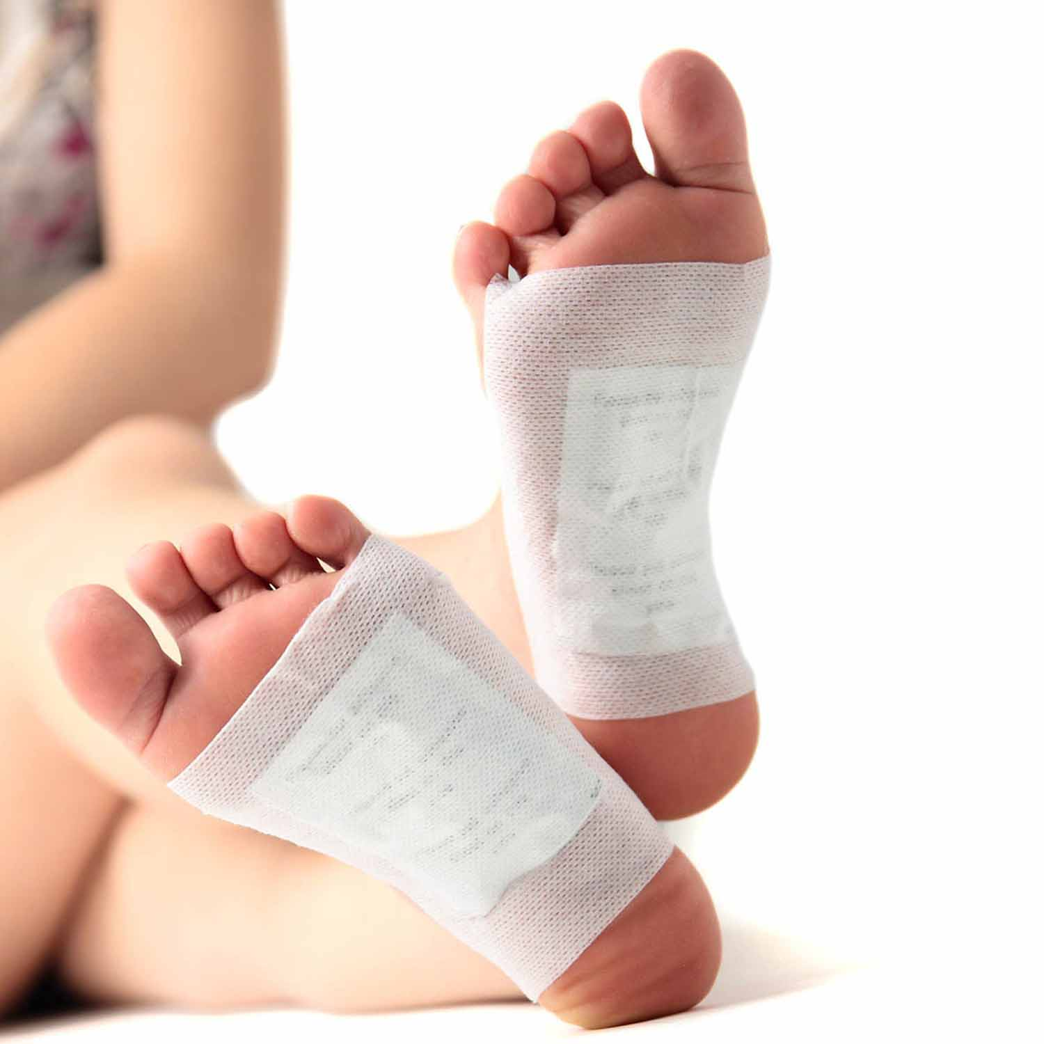 10pcs/box Detox Foot Pads Patches with Retail Box and Adhesive Pads(10pcs Adhesive) foot Cleansing massager