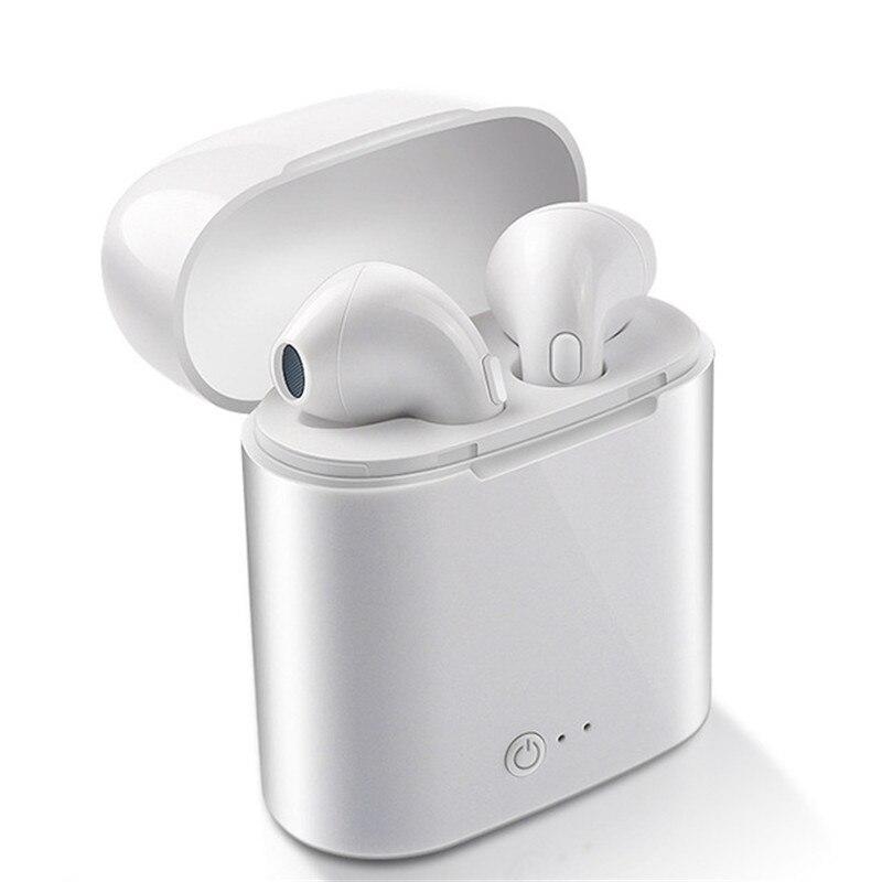 I7 TWS i7s Mini auriculares inalámbricos Bluetooth en la oreja auriculares con caja de carga