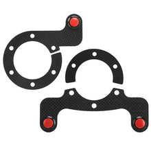 Carbon Fiber Racing Car Externe Claxon Kits Voor Momo/Omp/Nardi/Sparco 6 Bouten Stuurwiel claxon Auto Accessoires