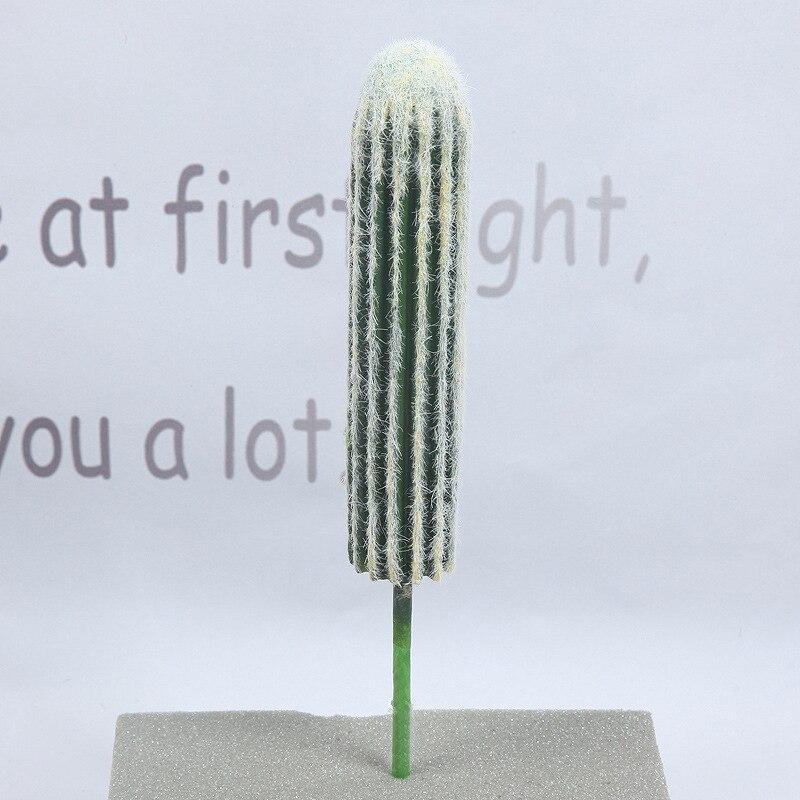 Купить с кэшбэком 43 CM Artificial Cactus Plants Indoor Tropical Fake DIY Art Landscaping Hotel Living Room Christmas Home Decor Accessories