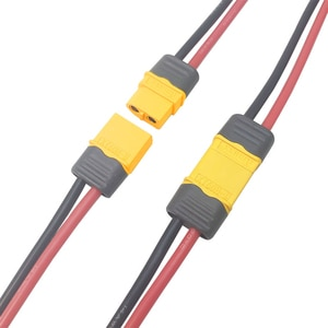 4PCS Amass XT60H Male Female Plug Connector with Sheath Cover AWG12/14/16 Silicone Wire 10/15/30cm for RC FPV Drone Battery