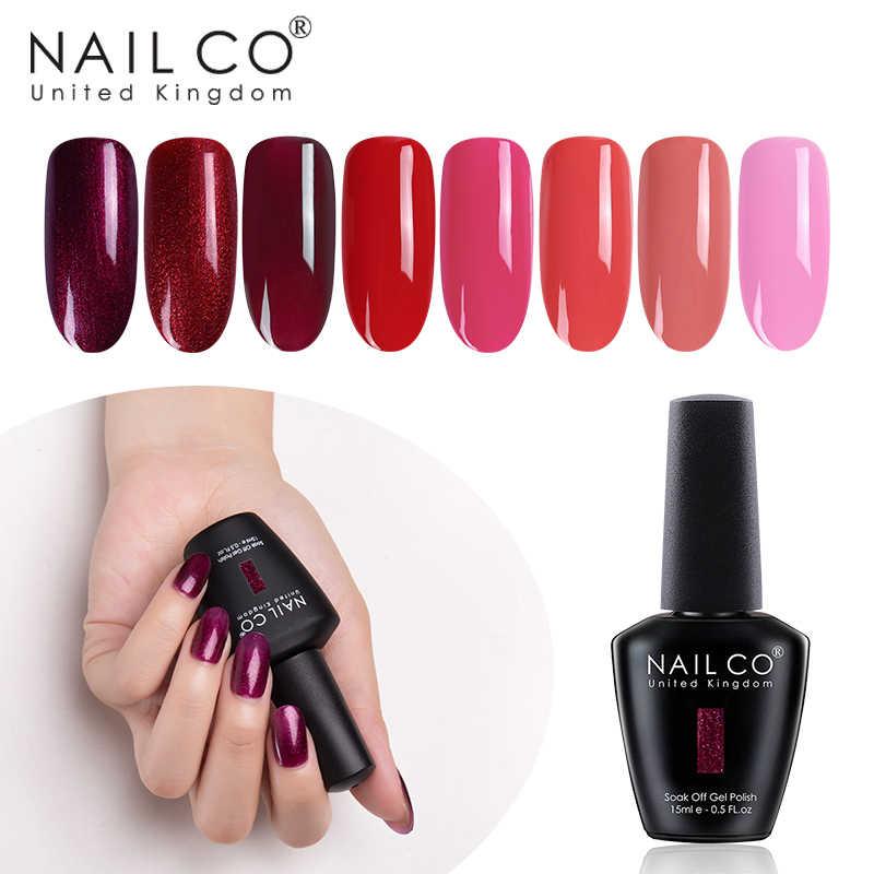 Nailco Gel Nail Polish Nail Art Set For Manicure Hybrid Nails Lak Colors Vernis Semi Permanent Uv Gel Nail Polish Gel Varnishes Nail Gel Aliexpress