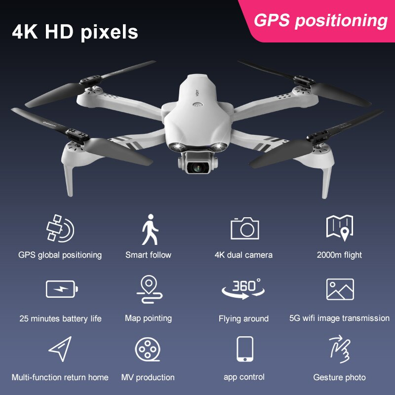 2021 New 4K HD dual camera with GPS 5G WIFI 10