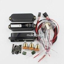 Artec Power Single Coil Aktive Pickups Mit Komplette Verdrahtung Setup (SMDC35)