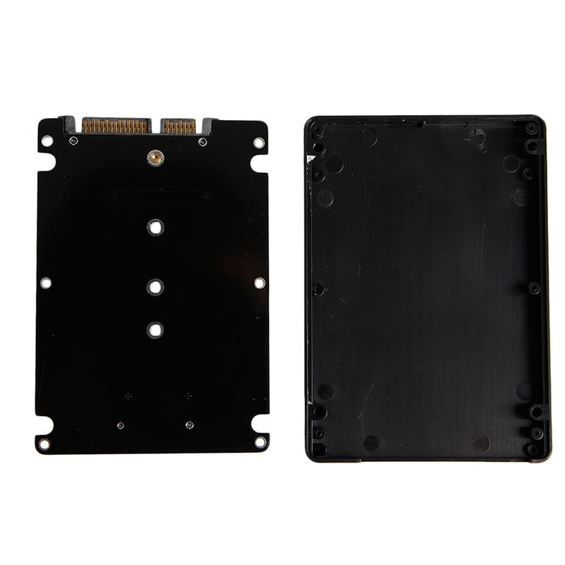 Conector de Llave B + M 2 M.2 NGFF (SATA) SSD a tarjeta adaptadora SATA 2,5 con funda New AXYF