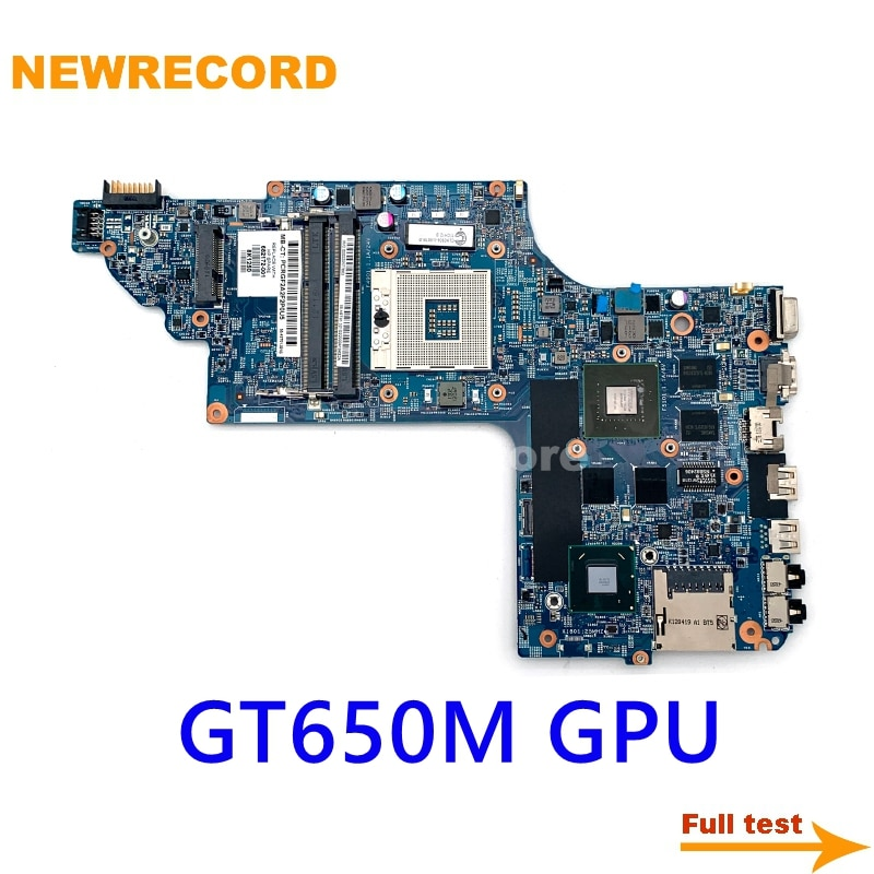 NEWRECORD 48.4ST06.011 682172-001 682175-501 682174-001 682175-001 لإتش بي جناح DV6-7000 اللوحة المحمول HM77 GT650M DDR3