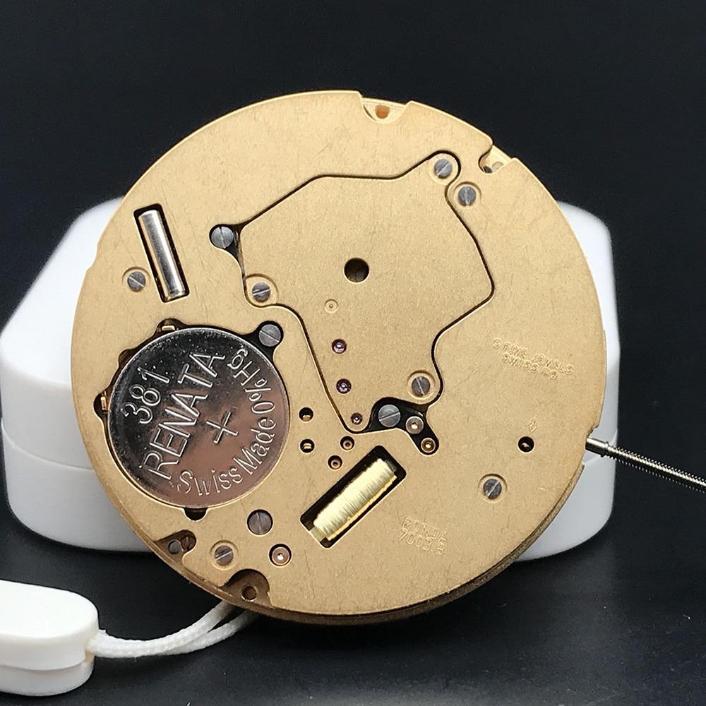 Original Swiss Made Watch Replace Movt High Quality Quickset Date With 381 Renata Battery Ronda Quartz Movement 7003.B enlarge