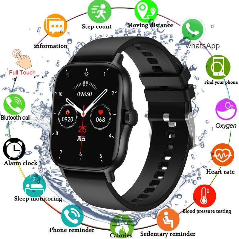 Papel de Parede Ip67 à Prova Bluetooth Chamada Relógio Inteligente Personalizar Esporte Smartver Sono Monitor Freqüência Cardíaca Dip67 Água Relógios 2021