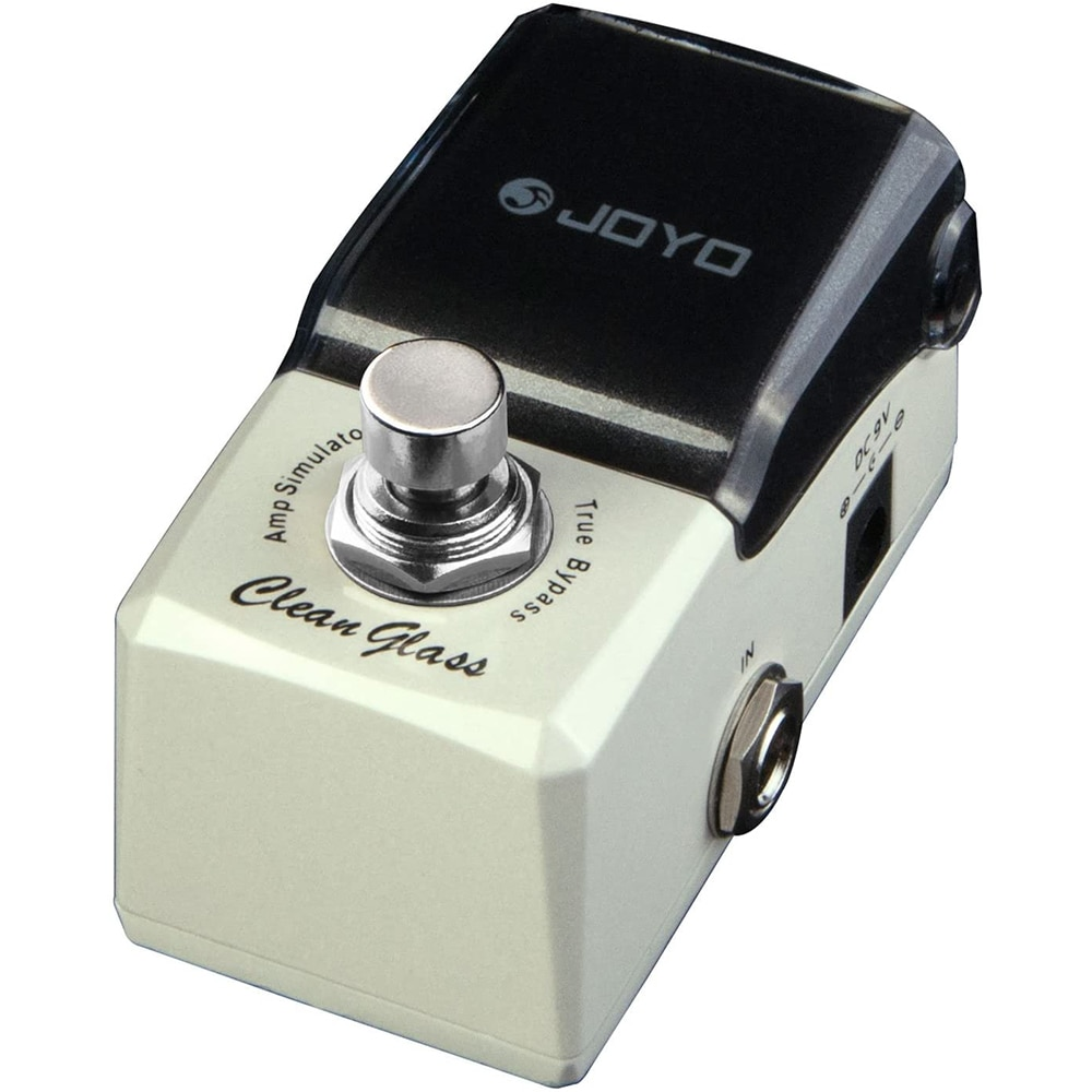 JOYO JF-307 Clean Glass Classic Sound Simulator True Bypass Electric Guitar Pedal Overdrive Pedal Effect for Electric Guitar enlarge