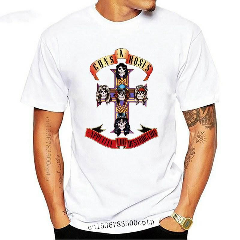 Camiseta oficial de Guns n'roses