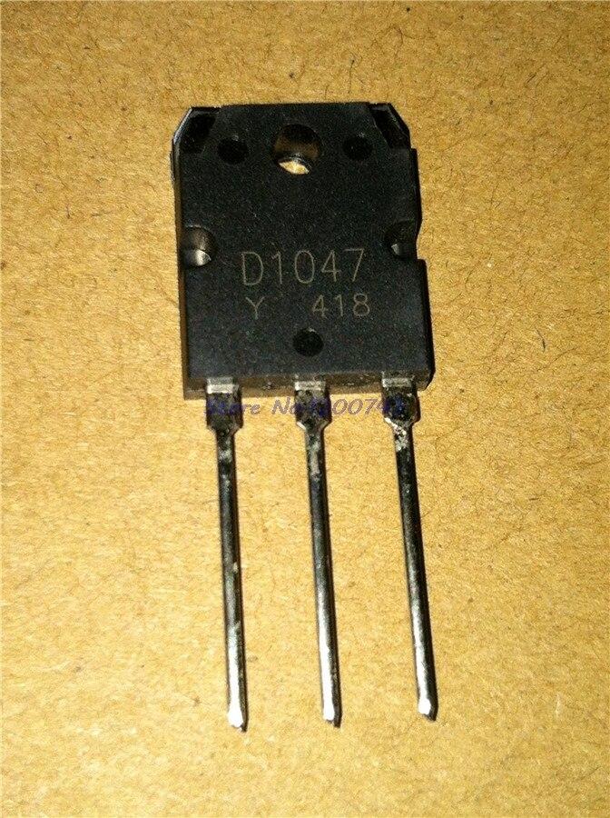 5 unids/lote 2SD1047 D1047 12A/140V transistores a-247 en Stock