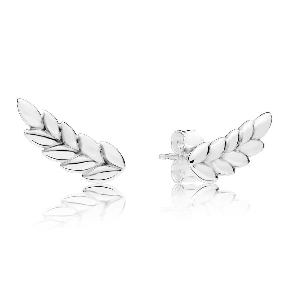 2020 New 925 Sterling Silver Pan Earringcurved Grain Pan Earrings For Women Wedding Gift Fashion Jewelry