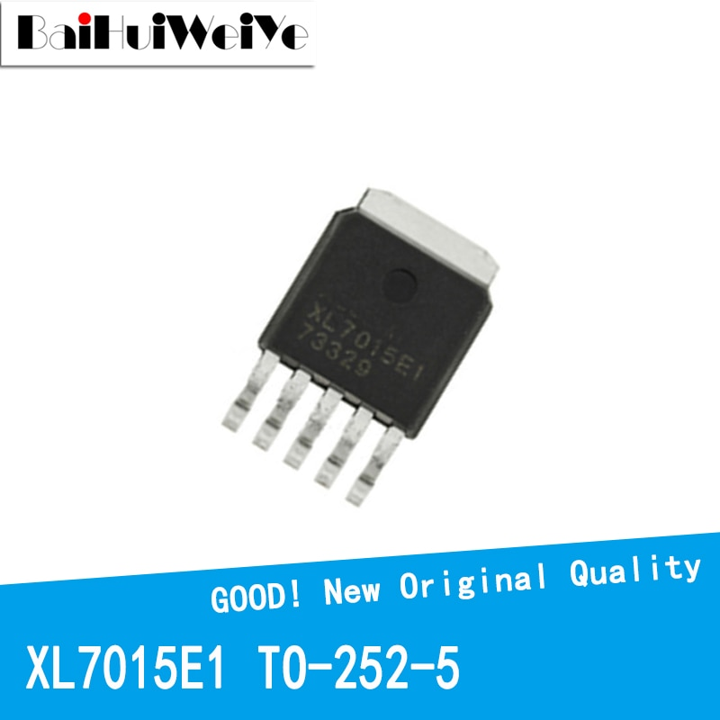 10PCS/LOT XL7015E1 XL7015E XL7015 L7015 TO-252 TO252-5 MOS FET New and Original IC Chipset MOSFET-N new original 30pcs lot 78m05 to252 7805 750ma