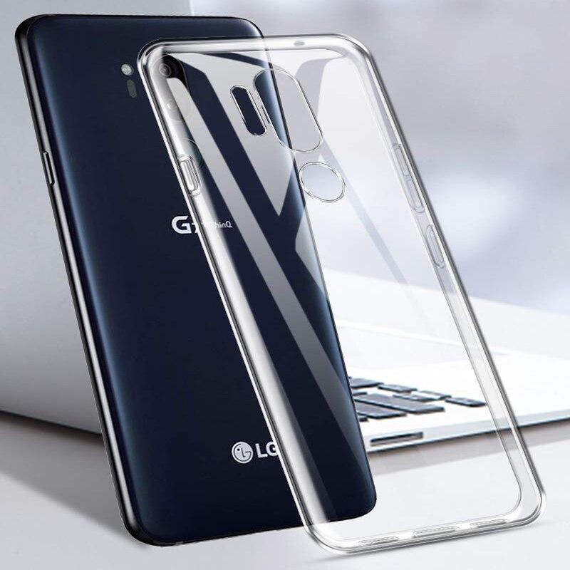 Olhveitra transparente caso para LG G7 G6 G5 G4 G3 G2 cubierta suave de TPU caso para LG V40 V30 V20 V10 Q6 Q7 Q60 K50 K40 K4 K8 K10 2017