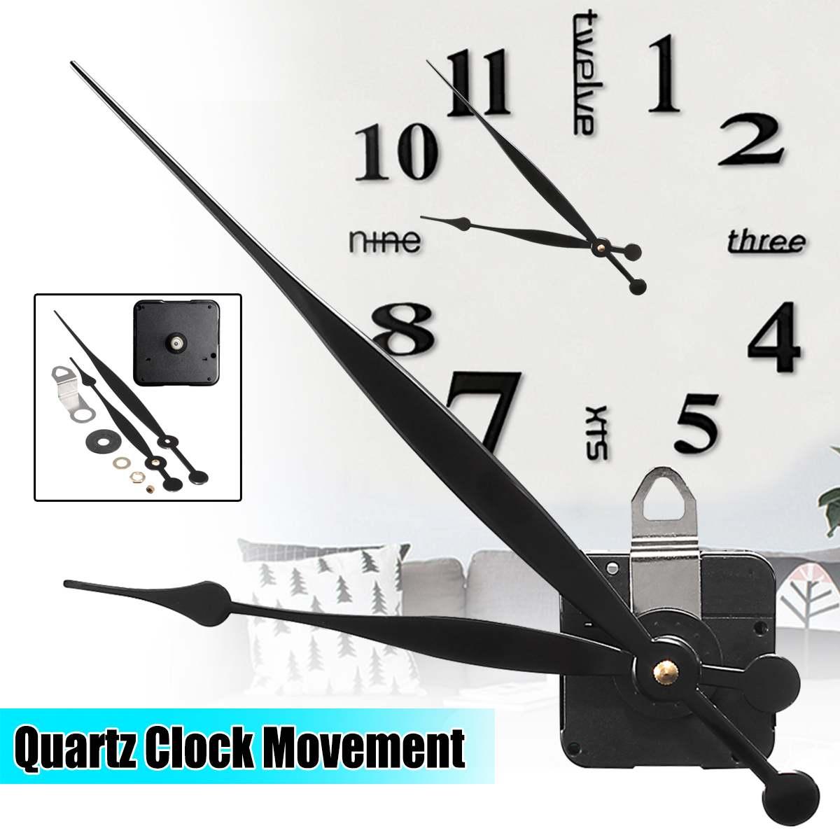 Длинные руки кварцевые часы механизм двигателя с высоким крутящим моментом часовые минутные стрелки DIY модуль комплект аксессуаров