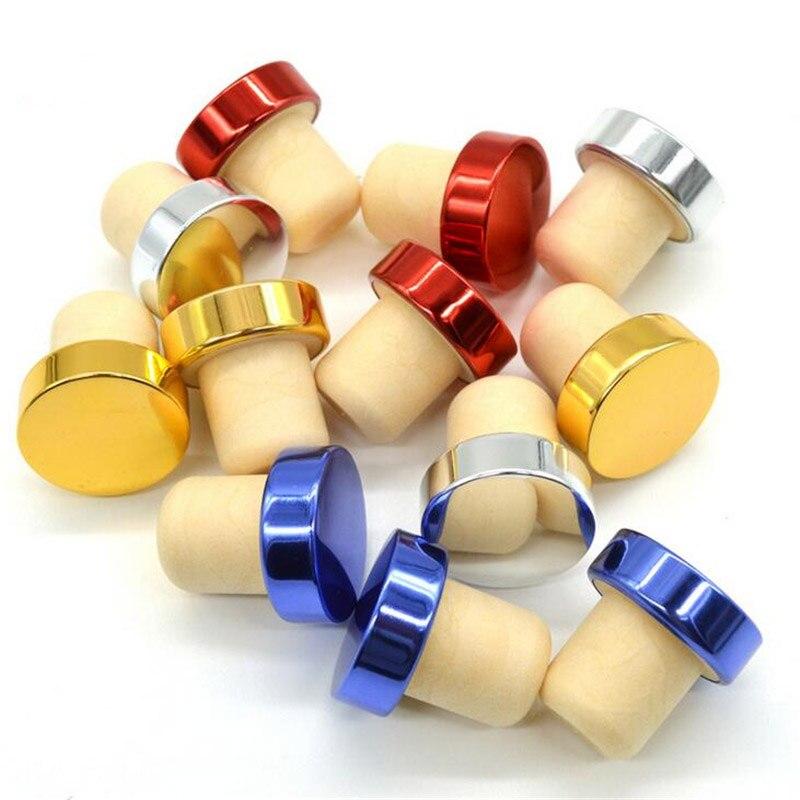 3 pces t-forma rolha de vinho livre de vazamento garrafa de cortiça de vinho tinto plug barra ferramenta tampa de vedação rolhas para cerveja barware ferramentas garrafa rolha