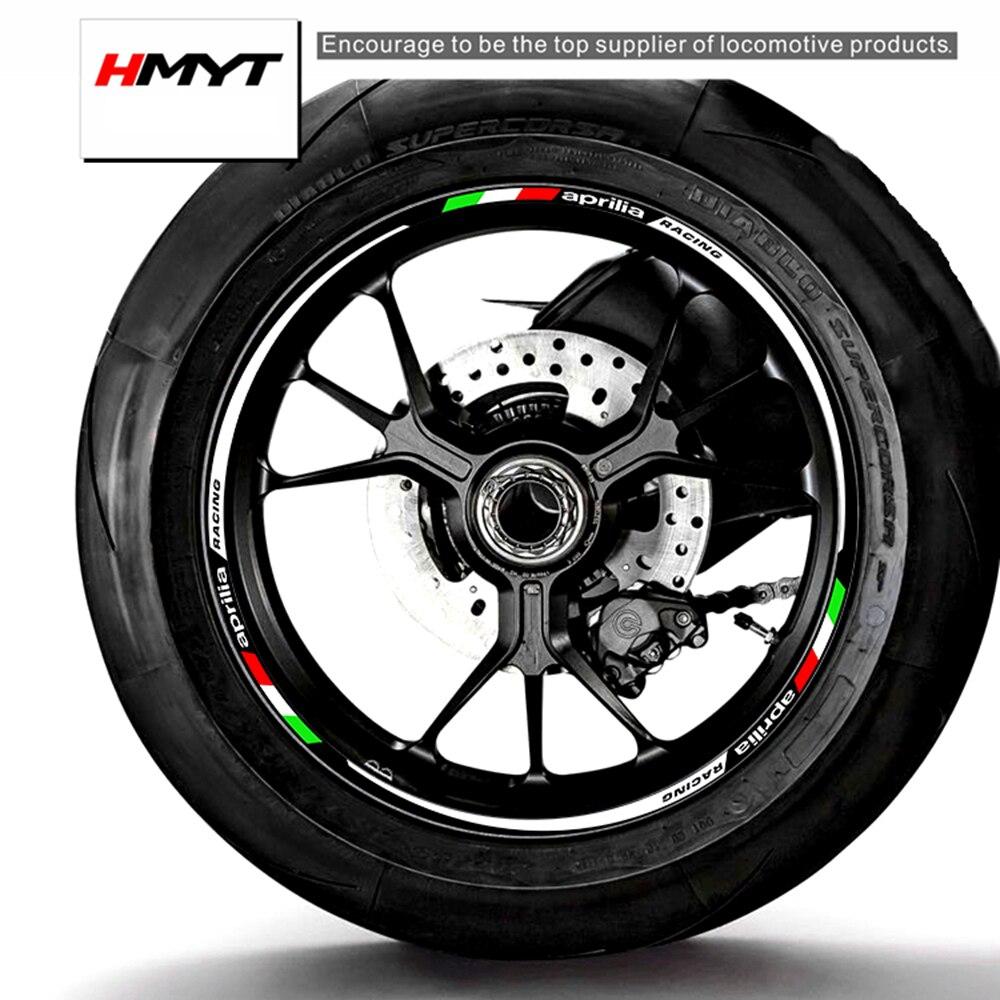 Geeignet für aprili SR Max250 apr250 300t-va sr125 srv850 sr50 SR Max300 motorrad hub rand aufkleber wasserdicht und reflektierende
