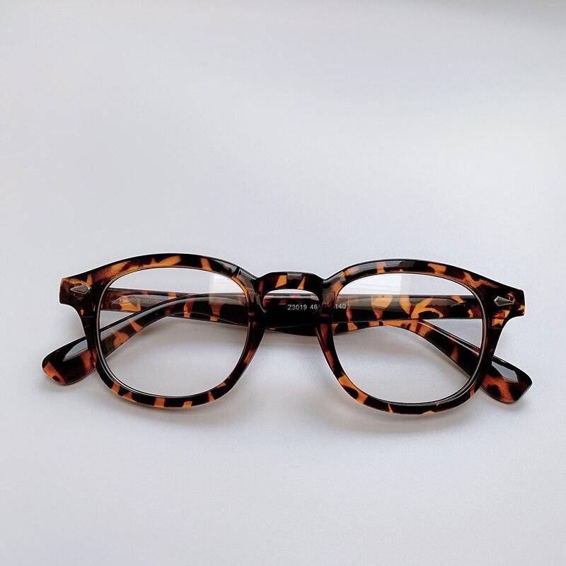 Fashion Johnny Depp Style Anti Blue Light Eye Glasses Men Women Retro Small Optical Spectacle Frame