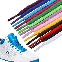 Men's and women's sports shoelaces color flat semicircular shoelace Suitable for all shoes Round lac