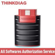 THINKDIAG tout le Service dautorisation de logiciel gratuit pour un an/deux ans sans adaptateur Bluetooth Thinkdiag