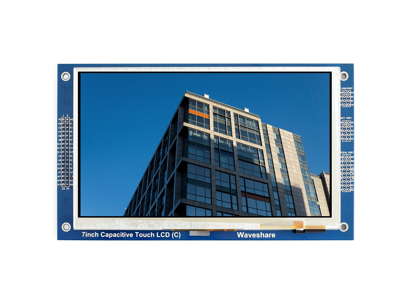 Waveshare 7 Inch 800*480 Multicolor Graphic LCD (C) With Capacitive Touch Screen GT911 TOUCH CONTROLLER TFT Display enlarge