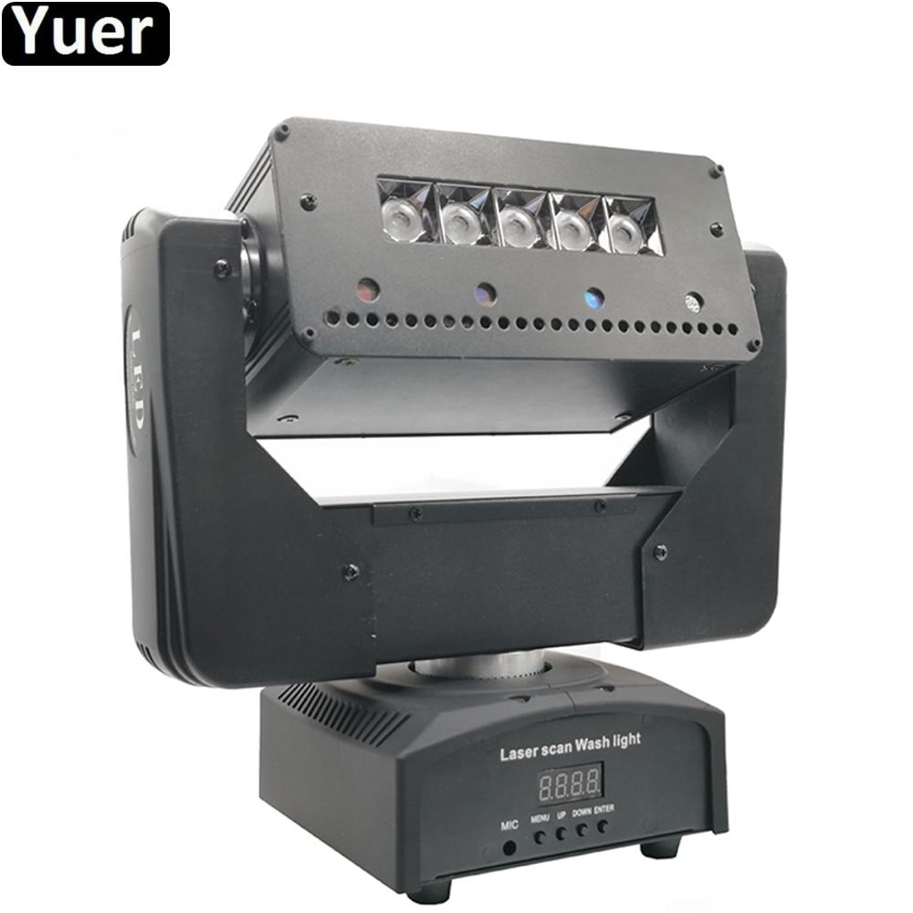 2Pcs/Lot Stage Laser Moving Head Light DMX512 Strobe Wash Beam 3IN1 Effect Light Led RGB 3IN1 DJ Disco Bar Lighing Equipment