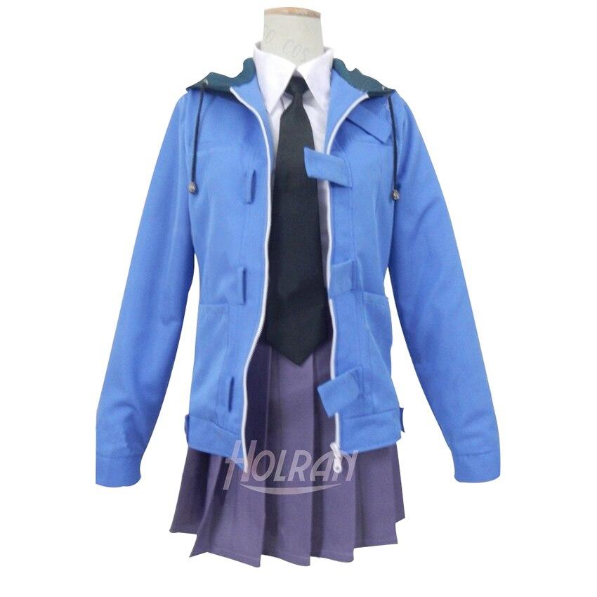 Hot Anime Mirai Nikki cosplay uniforme traje terno camisa casaco tie vestido de festa Halloween anime Akise Aru desgaste do partido
