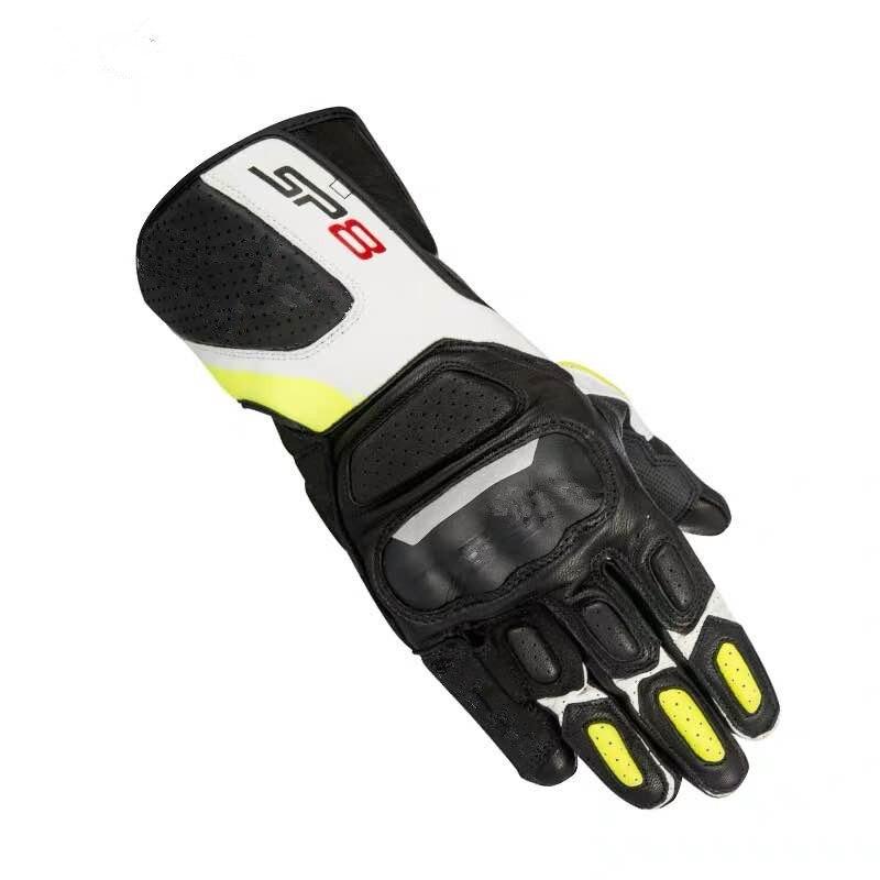4 farben 100% leder alpine leder handschuhe SP8 V2 motocross motorrad motorrad gp racing handschuhe GP PRO motorrad anti-drop