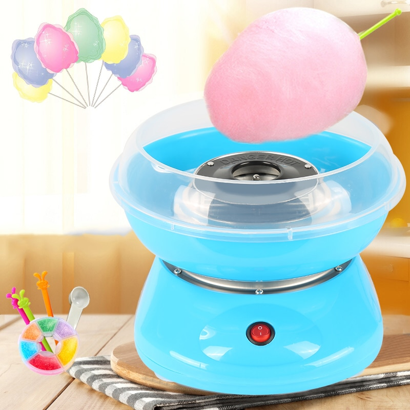 Electric DIY Sweet Cotton Candy Maker Portable Cotton Sugar Floss Sugar Machine For Kids Gift Children's Day Marshmallow Machine