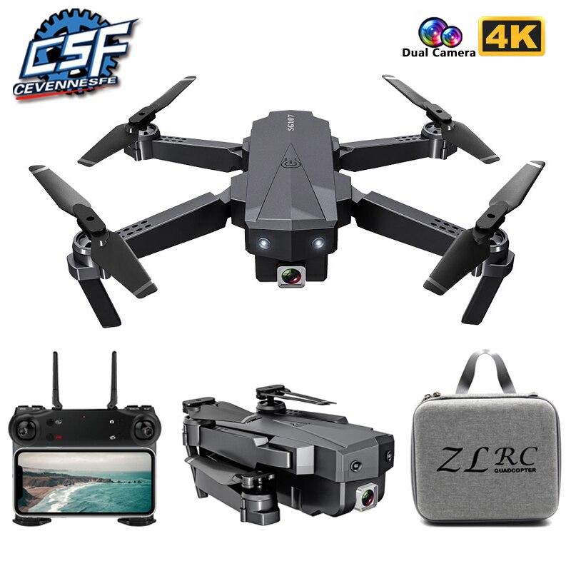 2021 NEW SG107 Mini Drone with 4K HD WIFI 1080P FPV Camera 2.4GHZ Quadcopter Optical Flow Quadrocopt
