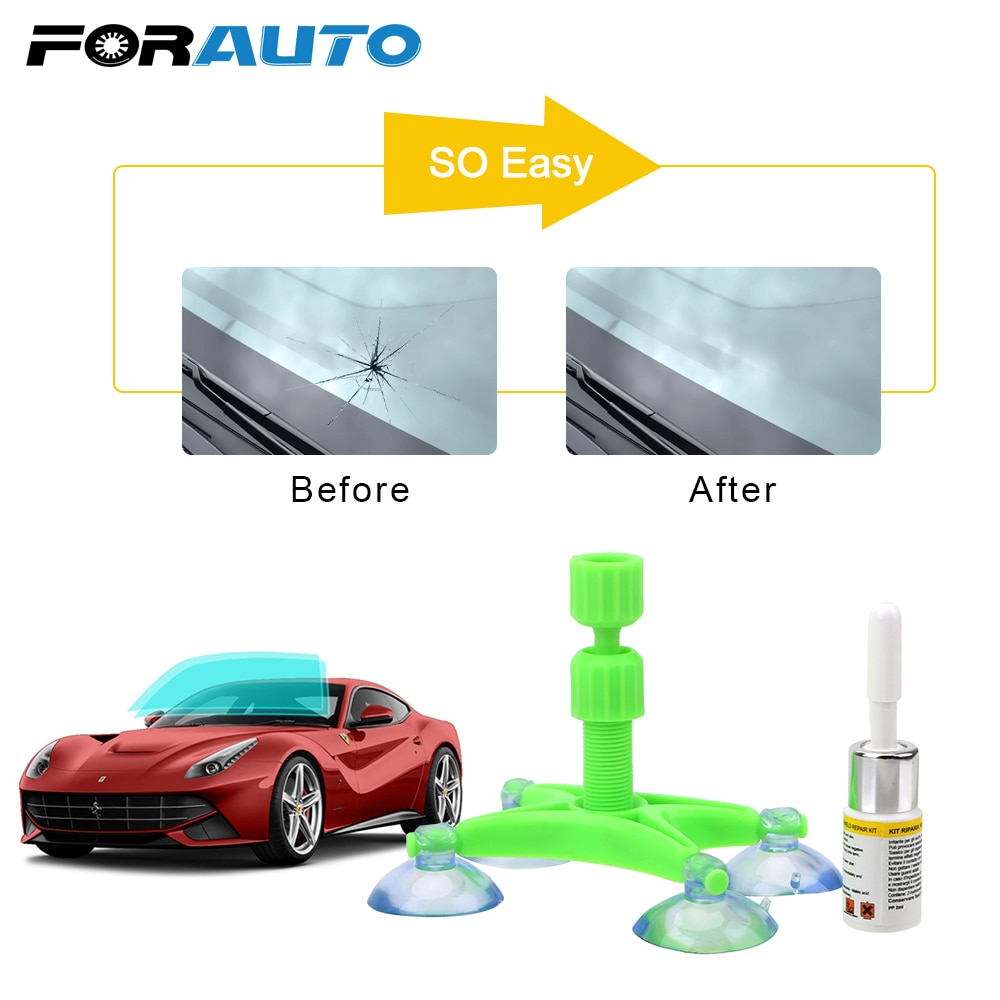 Reparo rápido pára-brisa kits de reparo diy tela da janela de vidro de polimento scratch windscreen crack restaurar ferramentas de reparo da janela do carro