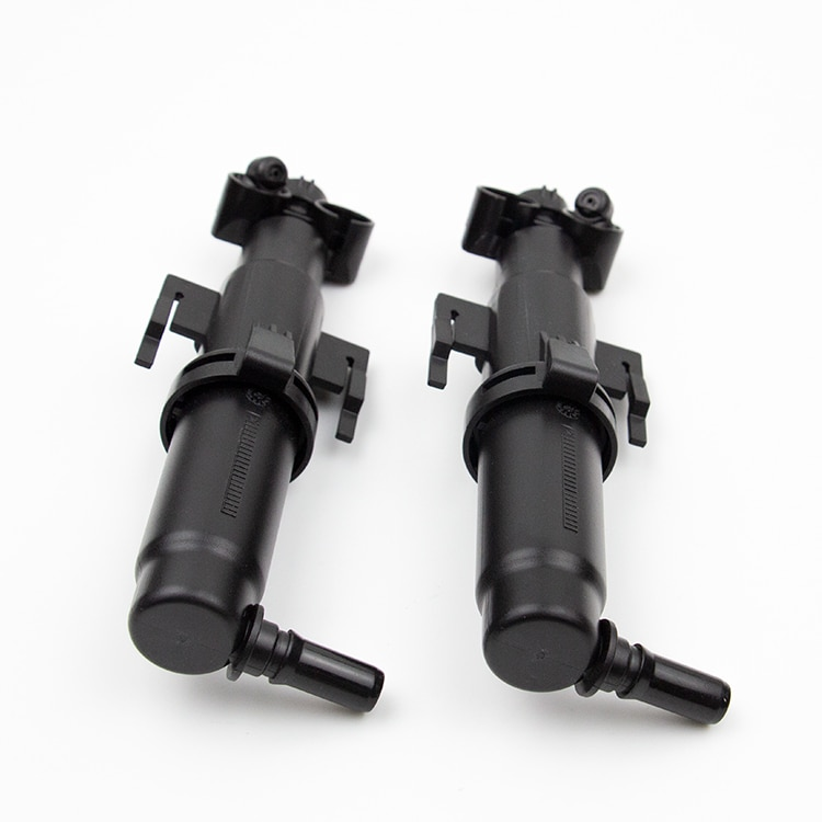 New 61677178743 61677178744 Left + Right Driver Headlight Washer Nozzle Cylinder For BMW SLK/SLC 180 200 300 AMG enlarge
