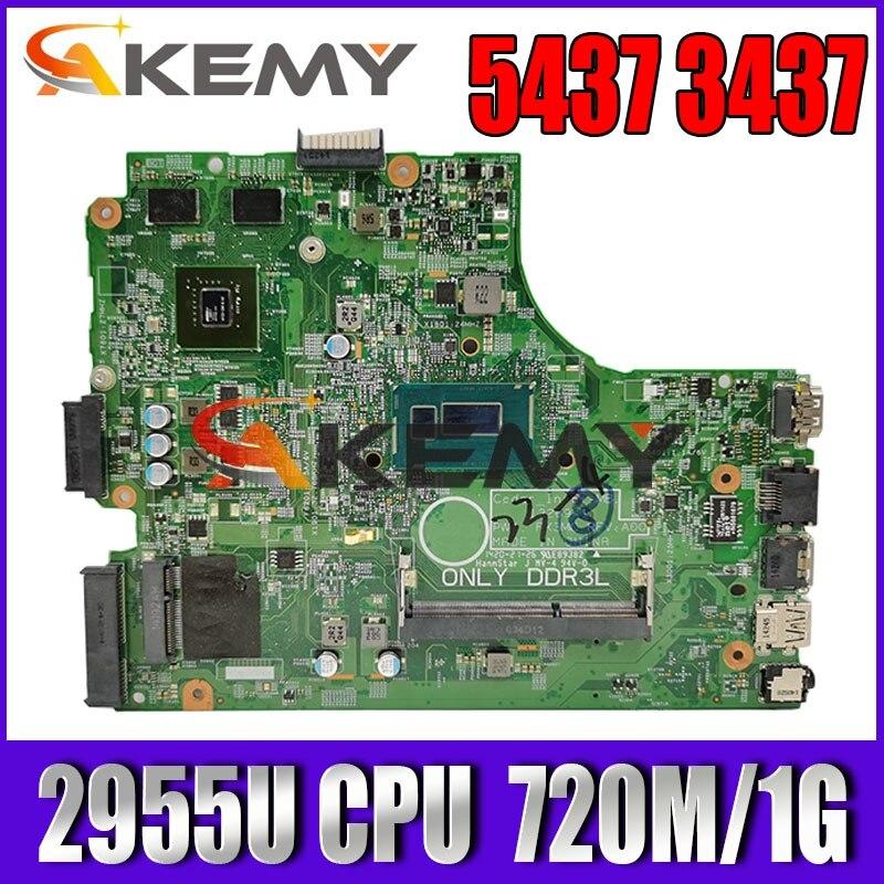CN-0Y5JJK Y5JJK لأجهزة الكمبيوتر المحمول For DELL Inspiron 3437 5437 اللوحة الأم DOE40-HSW 12314-1 PWB:VF0MH REV:A00 2955U 720M/1G اللوحة الرئيسية