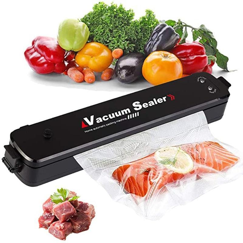 Best Vacuum Sealer Machine 220V/110V Automatic Dry and Moist Food Modes Degasser Vacuum Packer with 10pcs Packing Bags
