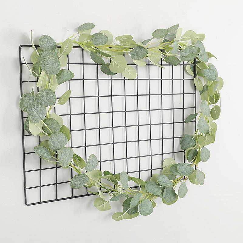 1.8M Wedding Decoration Artificial Green Eucalyptus Vines Rattan Fake Plants artificial Ivy Wreath Wall Decor Artifical Plants