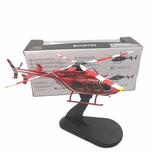1/72 échelle Cloche 407GX hélicoptère modèle classique moulé sous pression de chasse en alliage adulte cadeau de collection daffichage dintérieur
