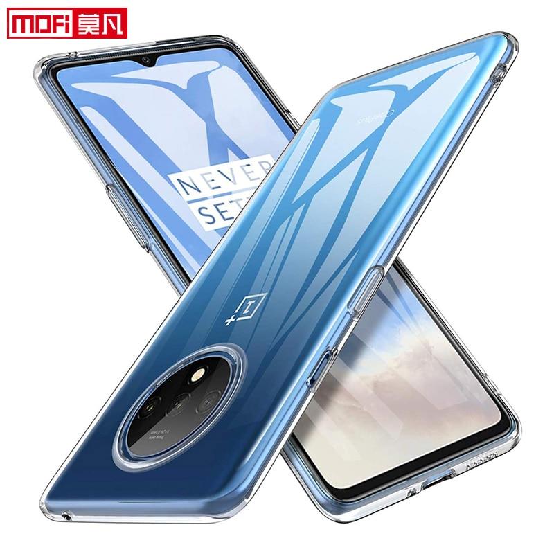 Прозрачный чехол для oneplus 7 t, чехол OnePlue 7T Pro, прозрачный чехол, Ультратонкий Мягкий чехол из ТПУ, силиконовый тонкий чехол MOFi oneplus 7t