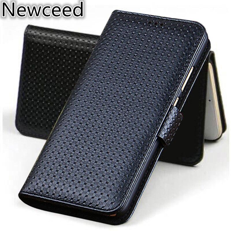 جراب محفظة من الجلد الطبيعي مع حامل بطاقات مغناطيسي لهاتف Samsung Galaxy A91 A81 A71 A51 A41 A31 A21 A11