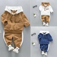 us autumn winter clothes toddler baby boy girl clothes sweatshirt hoodies pants outfit clothes tracksuit clothes set 2pcs