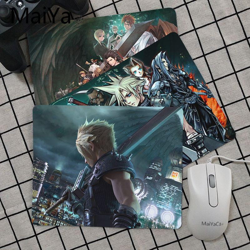 Babaite Top Quality Final Fantasy Remake mouse pad gamer play mats Top Selling Wholesale Gaming Pad mouse