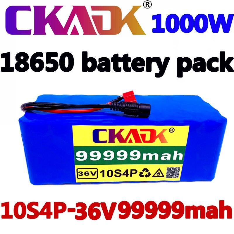 18650 بطارية 36 فولت 10S4P 99999Ah 1000 واط عالية الطاقة 18650 بطارية ليثيوم حزمة ebike دراجة كهربائية دراجة سكوتر 20ABMS