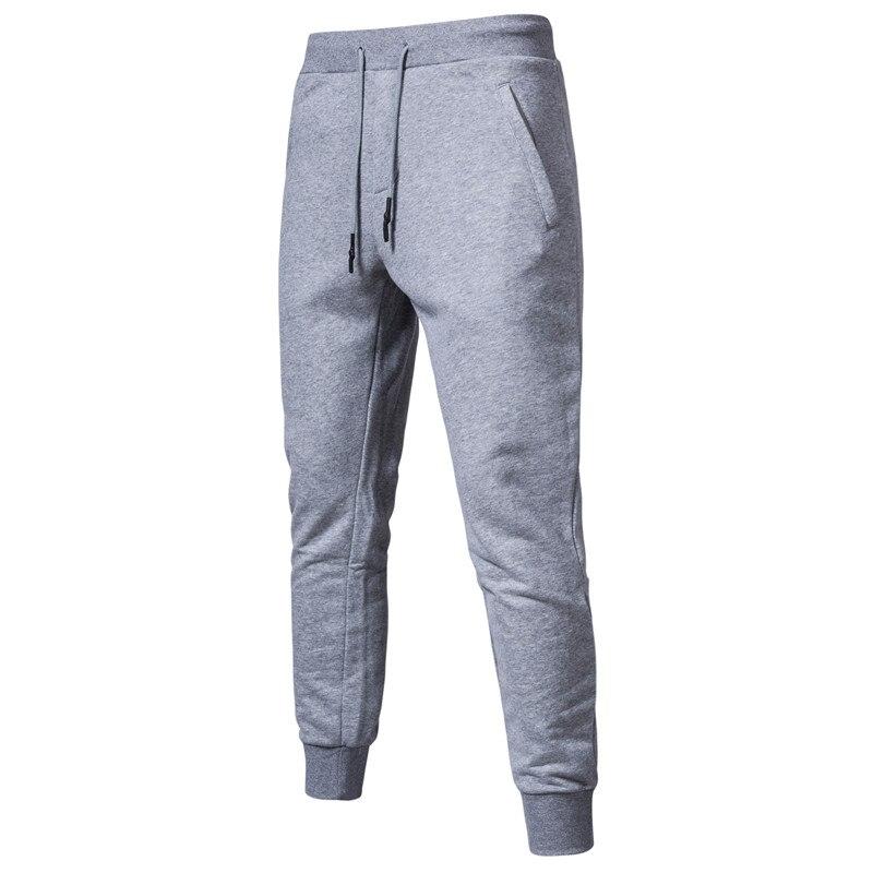 2020 nova primavera algodão joggers homens qualidade esporte sweatpants correndo agasalho dos homens calças de pista streetwear