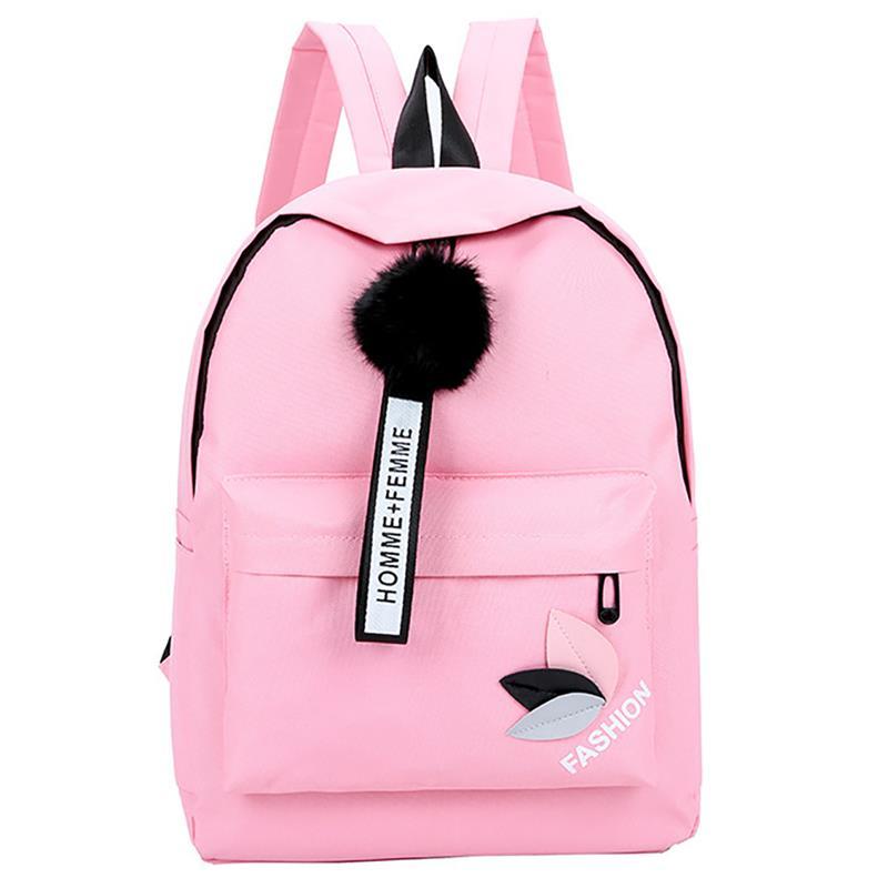 Mochila con hojas impresas a la moda, bolsas de lona para estudiantes, mochilas escolares para adolescentes y niñas, bolsa de viaje de gran capacidad, mochila informal para mujeres